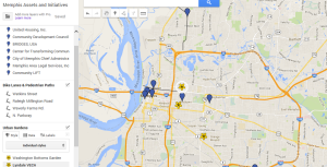 2014.9.29 Memphis Assets and Initiatives Map Pic